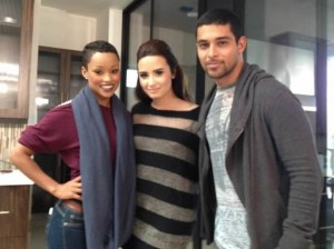 Demi Lovato , Wilmer Valderrama , The X Factor