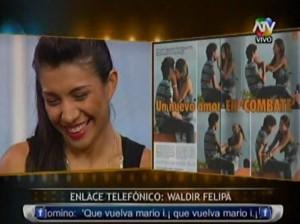 Waldir Felipa , Revista Magaly TeVe , Combate , Diana Sánchez , Belén Estévez , Videos de Espectáculos