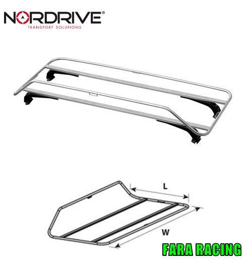 Nordrive N70011 Rear-Rack, portabagagli per spider/coupè