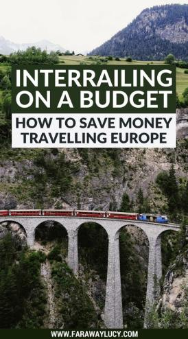 Interrailing on a budget: how to save money travelling Europe.This guide helps students, young people and anyone else wanting to interrail around Europe on a budget. My tips and tricks will help you save money, prioritise what is most important to you and have a great time travelling around Europe! Click through to read more...