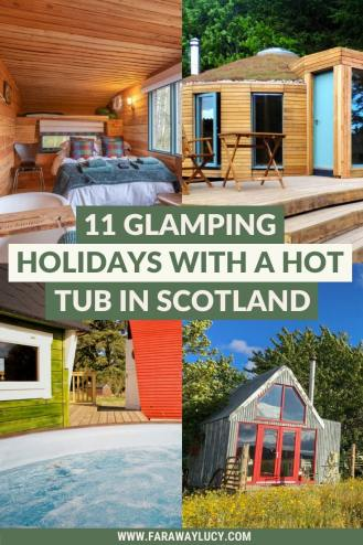 11 Amazing Glamping Holidays with a Hot Tub in Scotland. Scotland glamping sites. Scotland glamping holidays. Glamping in Scotland. Glamping pods Scotland. Scotland holiday home. Scotland hot tub. Scotland hotels. Scotland hotel room. Scotland hotels beautiful. Glamping UK holidays, Glamping pods uk. Glamping ideas UK. Glamping in UK. Safari tent glamping uk. Glamping sites UK. Click through to read more...