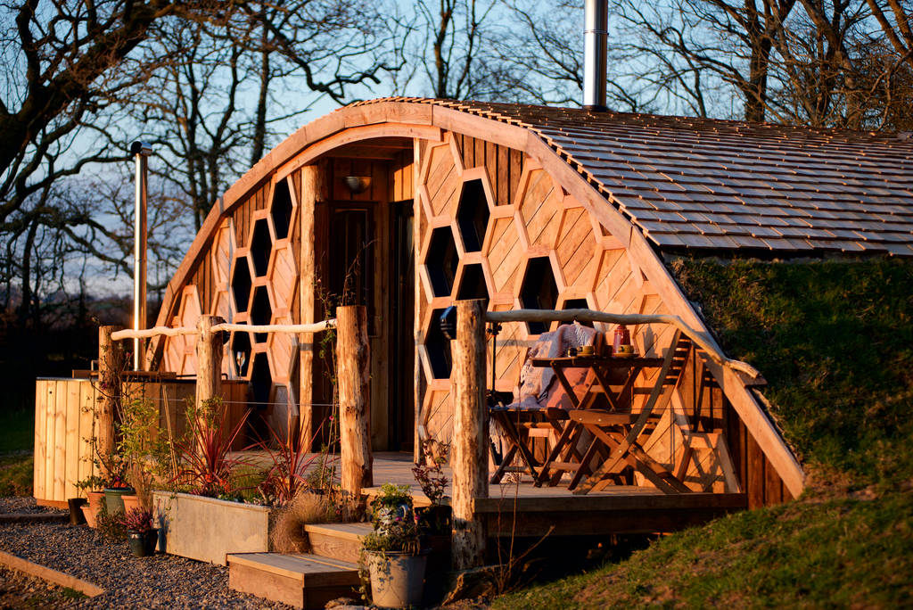 quirky-glamping-cabin-with-decking-and-hot-tub-the-hiveaway-at-llain-in-ceredigion