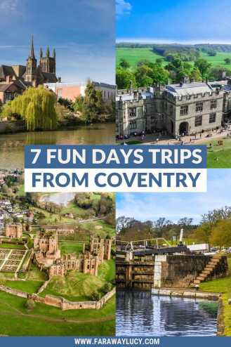 7 Fun Day Trips from Coventry You Need to Go On. There's so many great things to do in Covenry and its surrounding areas. This post shares some of the best of the best! Click through to read more...