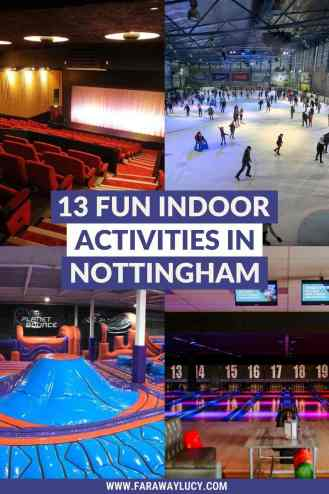 13 Fun Indoor Activities in Nottingham You Need to Try. Looking for fun and different things to do indoors in Nottingham on a rainy day? Well, you've come to the right place! Click through to read more...