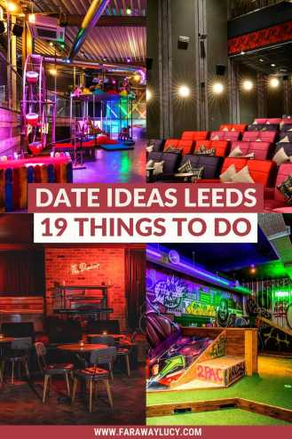 Date Ideas Leeds: 19 Romantic Things You Need to Do. From live jazz and board game cafes to crazy golf and cookery lessons, there are so many romantic things to do in Leeds for couples, and these are some of the best of the best! Click through to read more...