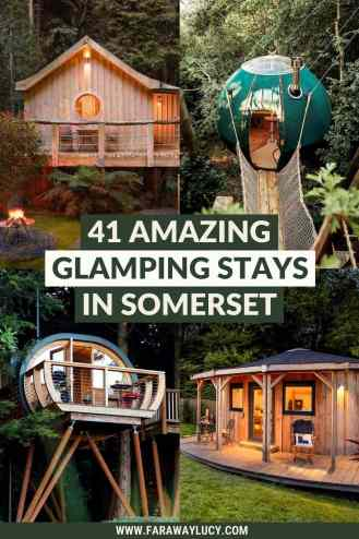 Glamping Somerset: 41 Amazing Places You Need to Stay At. From treehouses and shepherds huts to safari tents and yurts, you'll love these Somerset glamping holidays. Click through to read more...