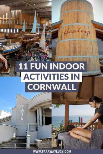 11 Fun Indoor Activities in Cornwall You Need to Try. From spa days, bowling and quirky pubs, to the best art galleries and museums, there are so many great things to do on a rainy day in Cornwall. Click through to read more...