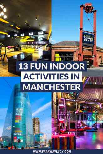 13 Fun Indoor Activities in Manchester You Need to Try. From skiing, crazy golf and bowling to museums, bars and historic sights, here are 13 fun indoor activities in Manchester you need to try! Click through to read more...