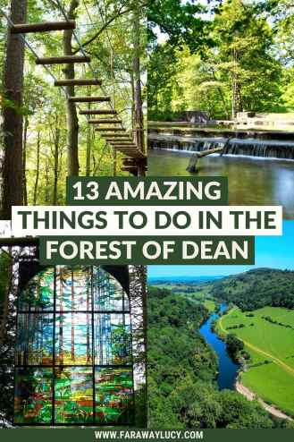 13 Amazing Things to Do in the Forest of Dean. From beautiful viewpoints and woodland walks to cool museums and outdoor pools, there are so many great places to visit and things to do in the Forest of Dean! Click through to read more...