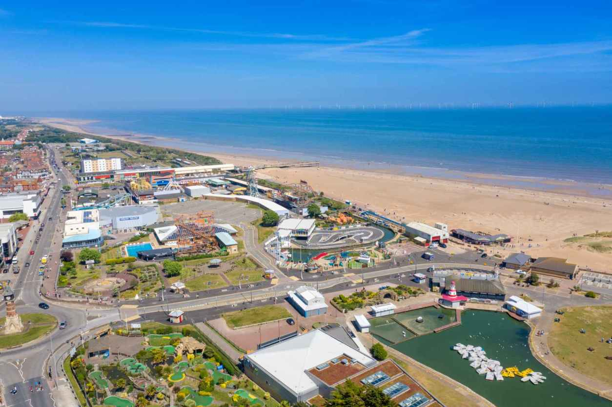 aerial-photo-of-skegness-town-centre-beach-and-sea-in-summer