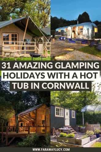 31 Amazing Glamping Holidays with a Hot Tub in Cornwall.