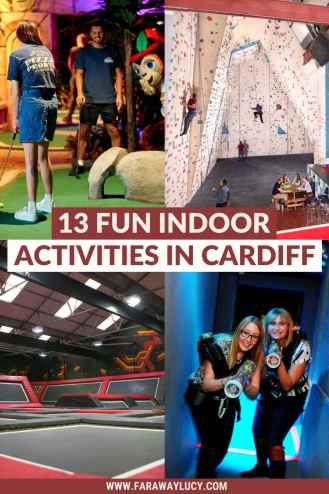 13 Fun Indoor Activities in Cardiff You Need to Try [2021]. Whether you're a thrill-seeker, sports junkie, or prone to a bit of shopping, here are the best indoor activities in Cardiff. Click through to read more...