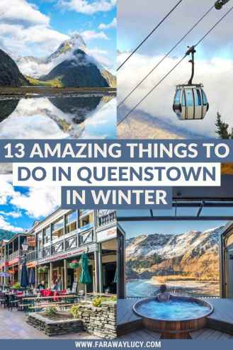 13 Amazing Things to Do in Queenstown in Winter. From adrenaline activities and festivals to spa days and wineries, you'll love these amazing things to do in Queenstown in winter. Click through to read more...