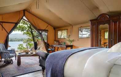 interior-of-dromquinn-manor-safari-tent-overlooking-lake-glamping-kerry