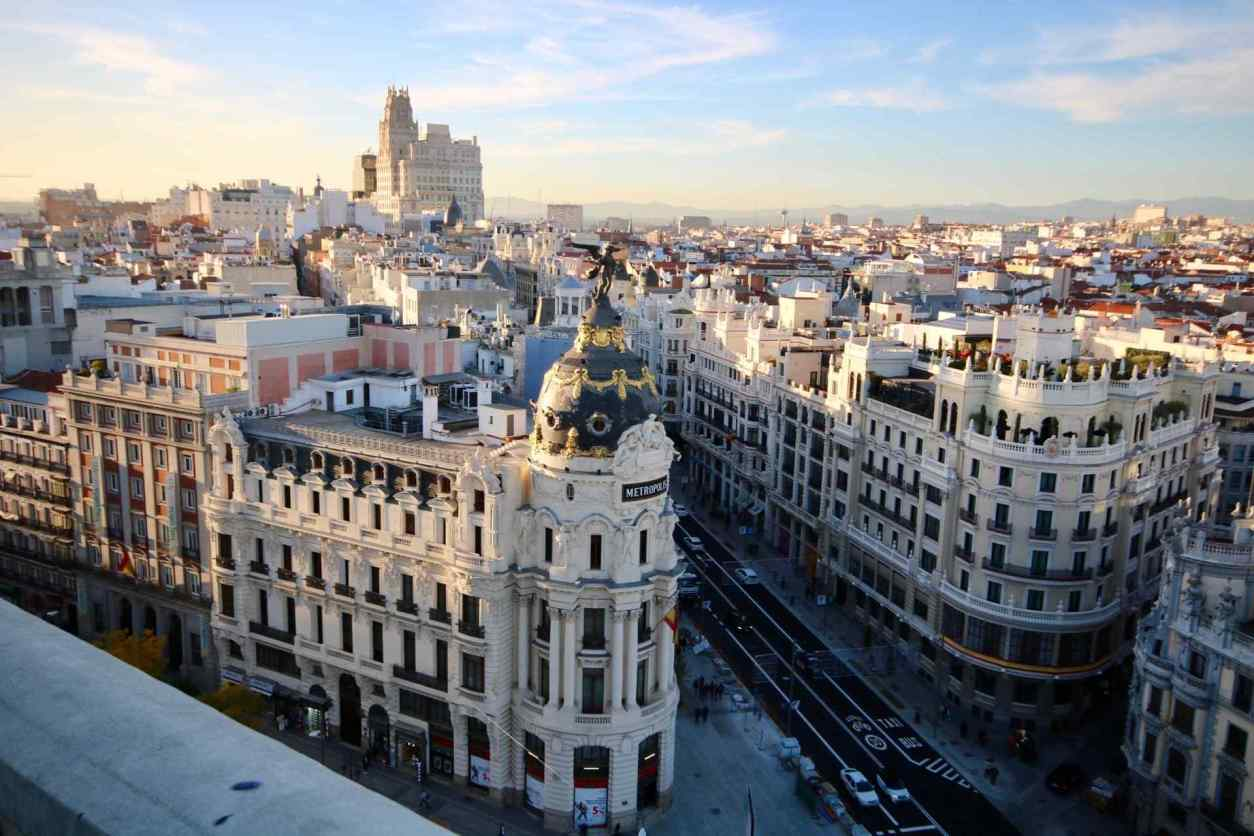 views-of-main-shopping-street-from-rooftop-above-gran-via-madrid