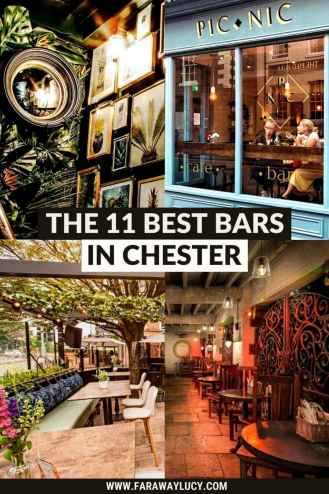 The 11 Best Bars in Chester for a Great Night Out [2021]. From Instagram-worthy bars and outdoor bars to bars that serves tasty food and amazing cocktails, here are the 11 best bars in Chester! Click through to read more...