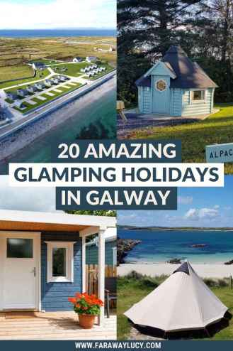 Glamping Galway: 20 Amazing Glamping Holidays in Galway. From shepherds huts, pods and cabins to wagons, tipis and yurts, here are 20 amazing glamping holidays in Galway. Click through to read more...