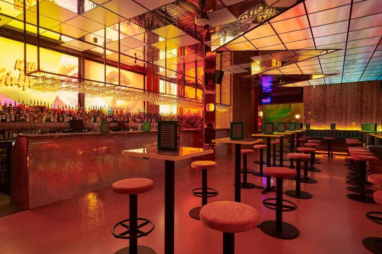 empty-interior-of-nikkis-bar-at-night