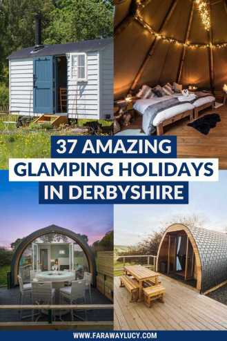 Glamping Derbyshire: 37 Amazing Places You Need to Stay. From tipis and shepherds huts to safari tents and yurts, here are 37 amazing glamping holidays in Derbyshire. Click through to read more...