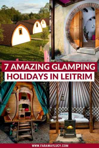 Glamping Leitrim: 7 Amazing Places You Need to Stay At. From shepherds huts, yurts and tipis to gypsy wagons and hobbit holes, here are 7 amazing places to go glamping in Leitrim. Click through to read more...