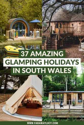 Glamping South Wales: 37 Amazing Places You Need to Stay. From treehouses, bell tents and safari tents to geodomes, pods and shepherds huts, here are 37 amazing glamping holidays in South Wales. Click through to read more...