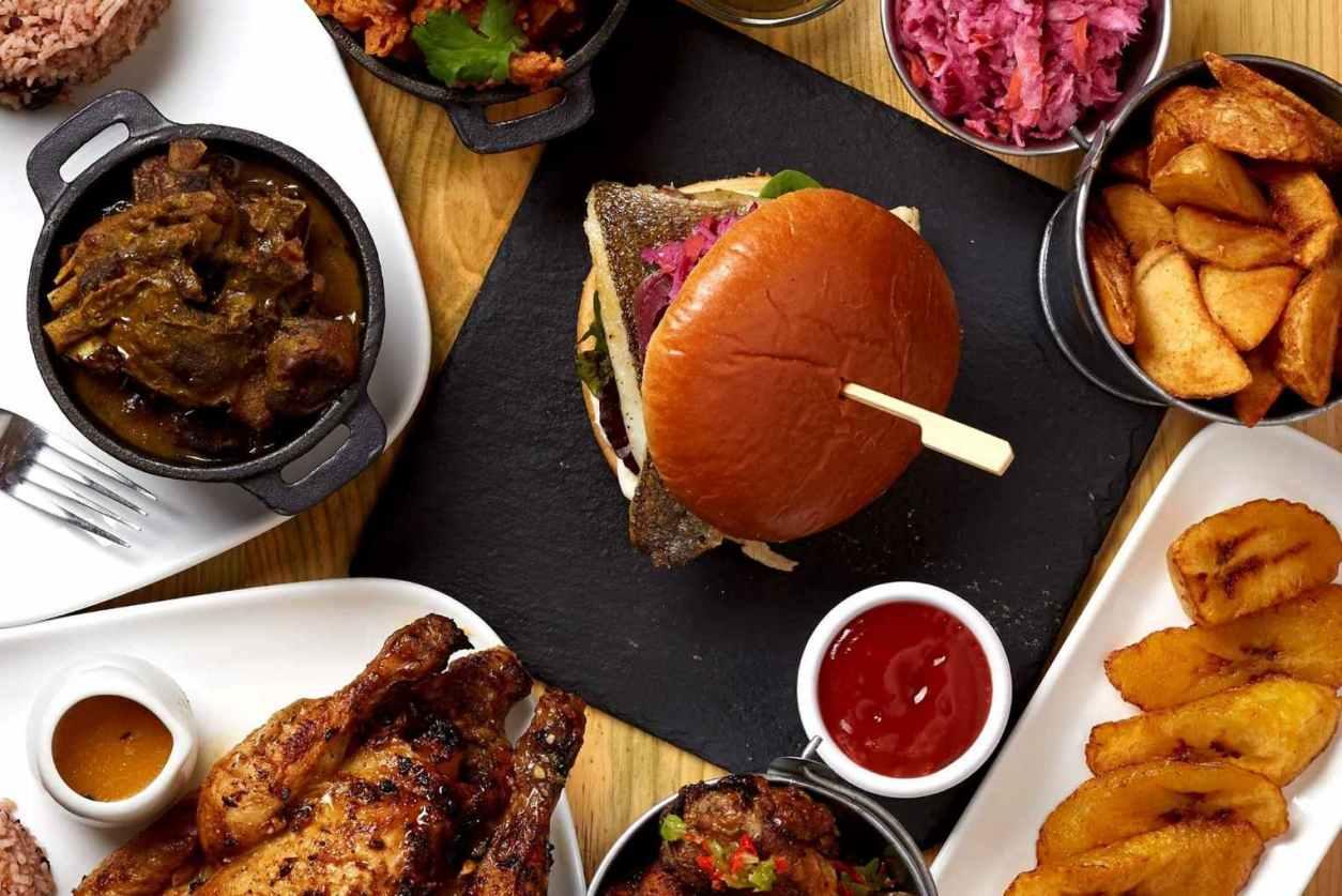 plates-of-caribbean-food-at-three-little-birds-restaurant