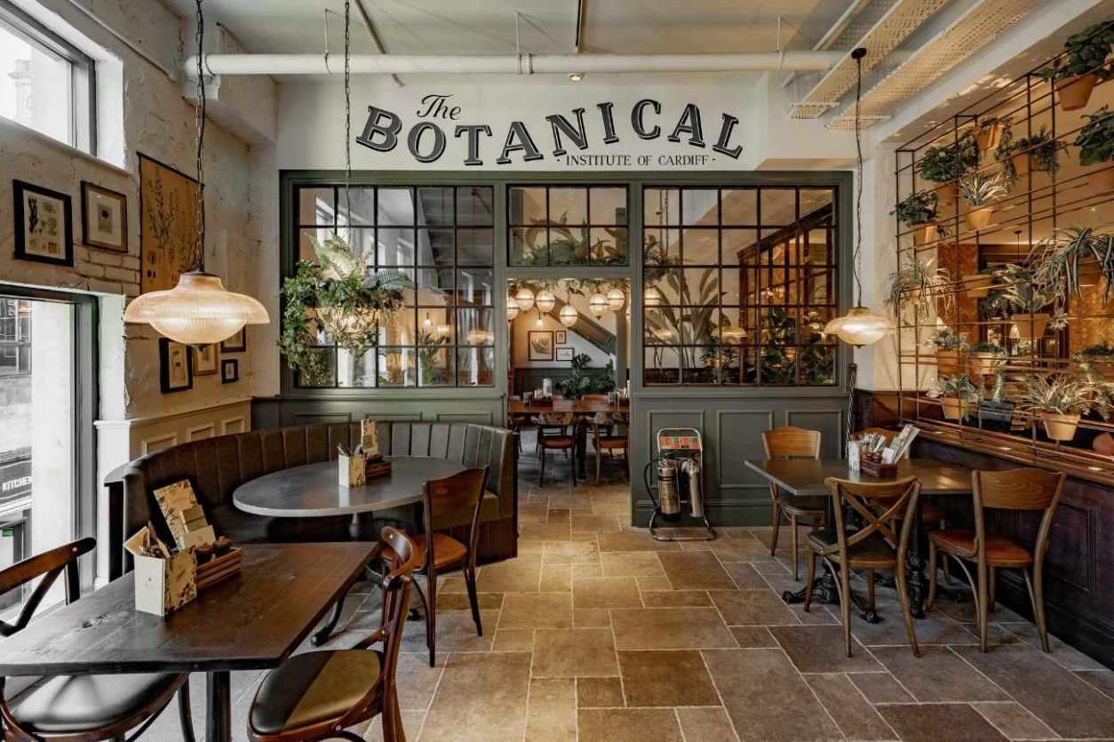 interior-of-the-botanist-bar-bottomless-brunch-cardiff