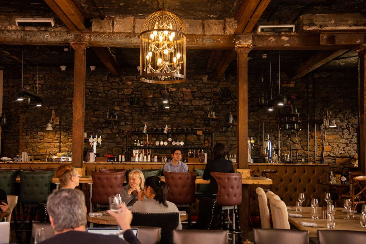 people-dining-inside-culleys-kitchen-and-bar-bottomless-brunch-cardiff