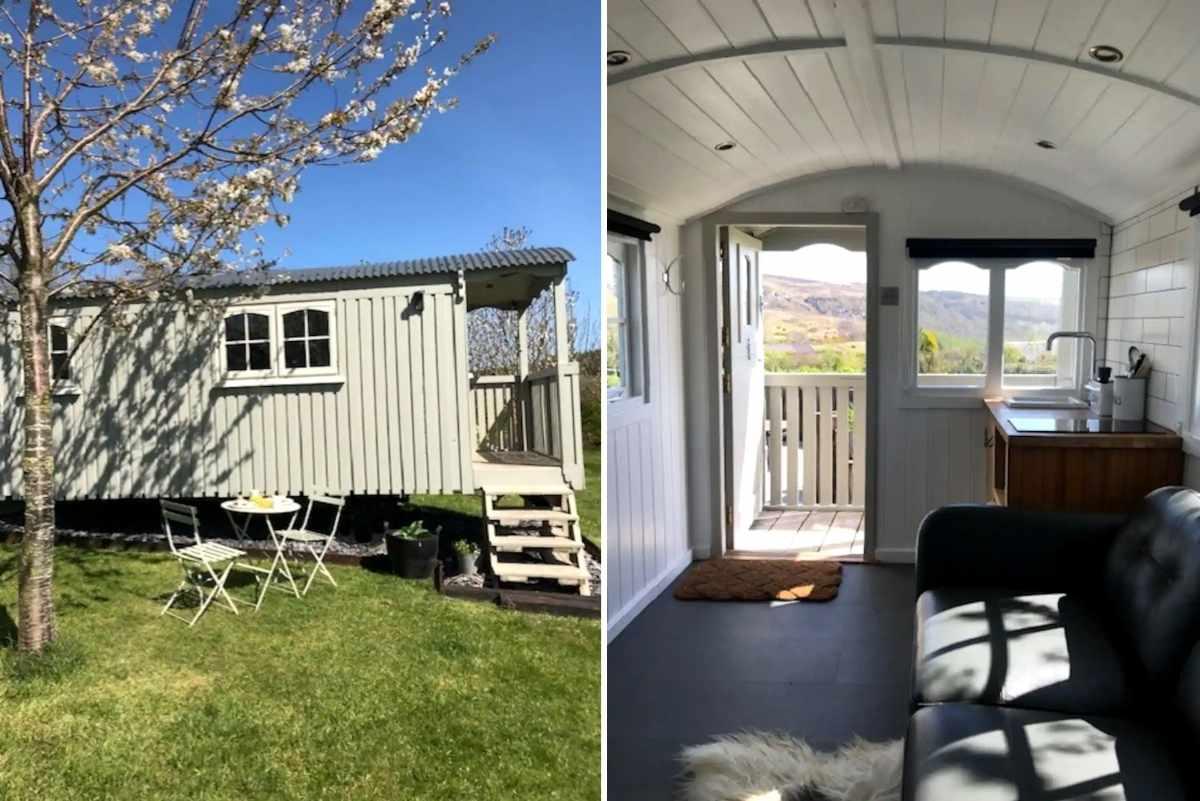 exterior-and-interior-of-dark-star-filled-skies-shepherds-hut