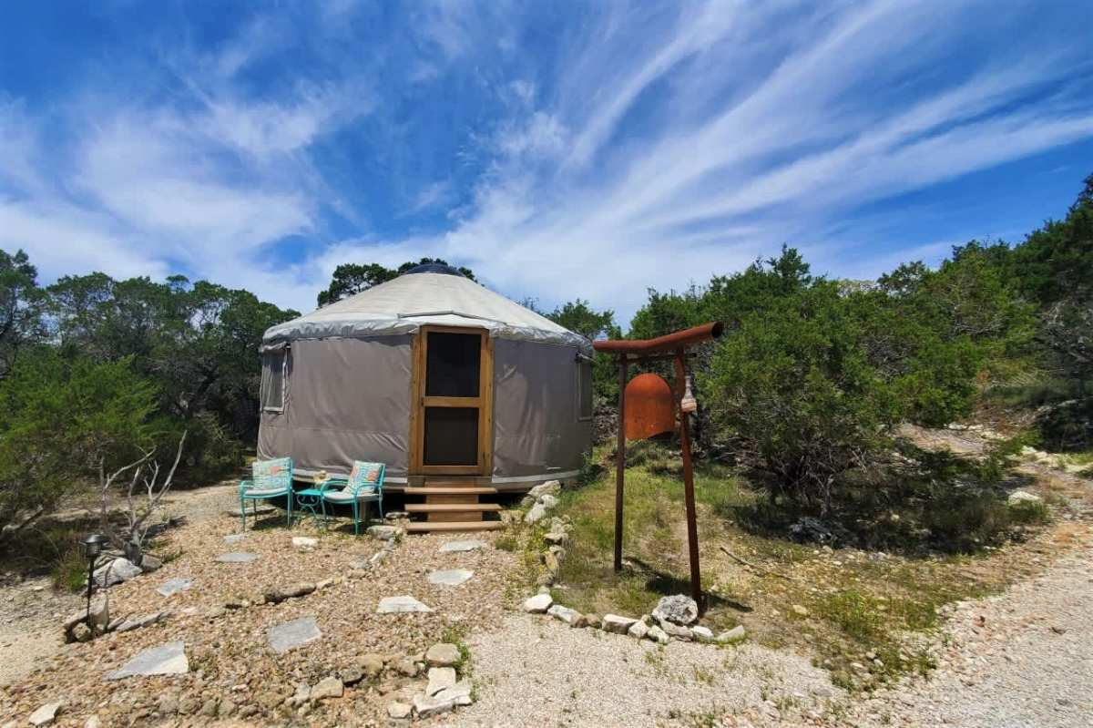 exterior-of-healing-heart-yurt-on-sunny-day