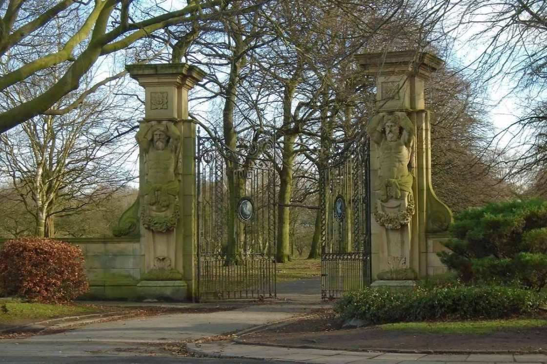 gate-at-entrance-to-calderstones-park-in-autumn