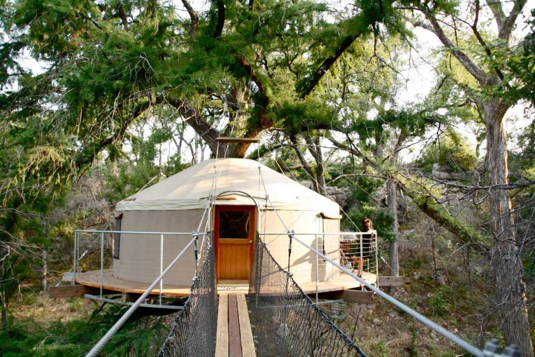 lofthaven-yurt-treehouse-in-the-trees-yurts-texas