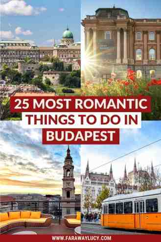 25 Most Romantic Things to Do in Budapest for Couples [2021]. From rooftop bars and wine tasting to thermal baths and river cruises, here are the 25 most romantic things to do in Budapest for couples! Click through to read more...