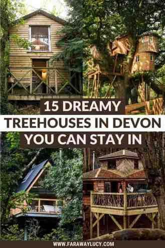 Treehouses Devon: 15 Dreamy Treehouses You Need to Stay In [2021]. From treehouses with hot tubs to treehouses with amazing views, here are 15 dreamy treehouses in Devon you need to stay in! Click through to read more...