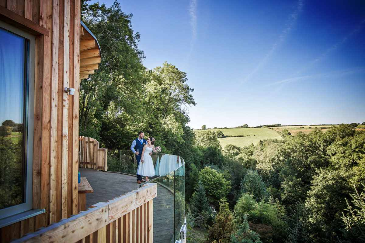 bride-and-groom-at-three-top-escape-treehouse-treehouses-devon