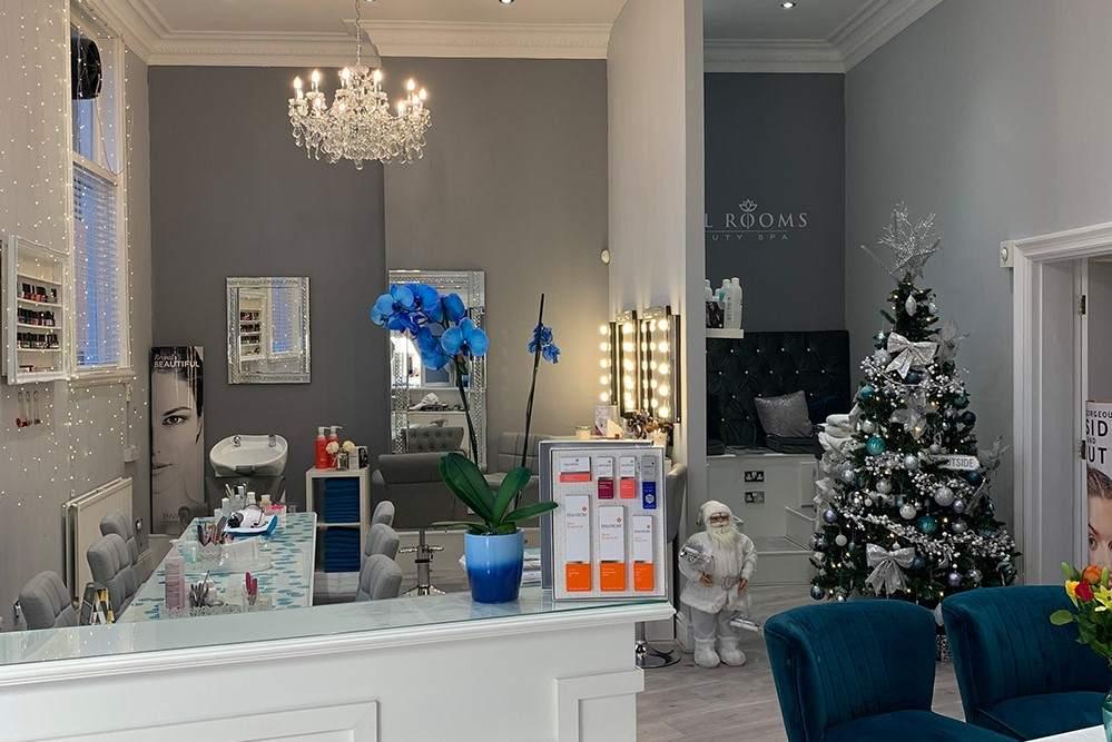 reception-at-opal-rooms-beauty-spa-at-christmas