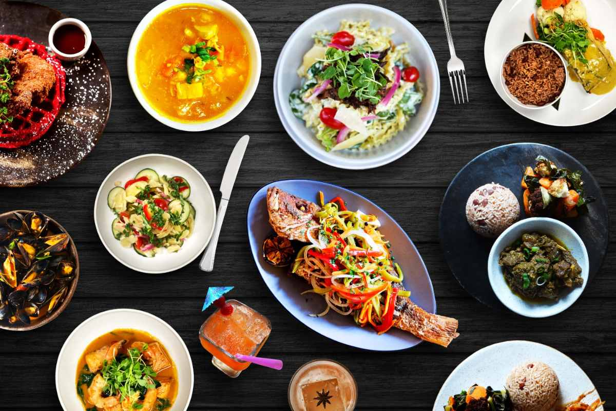 bowls-and-plates-of-food-at-negril-atl-restaurant