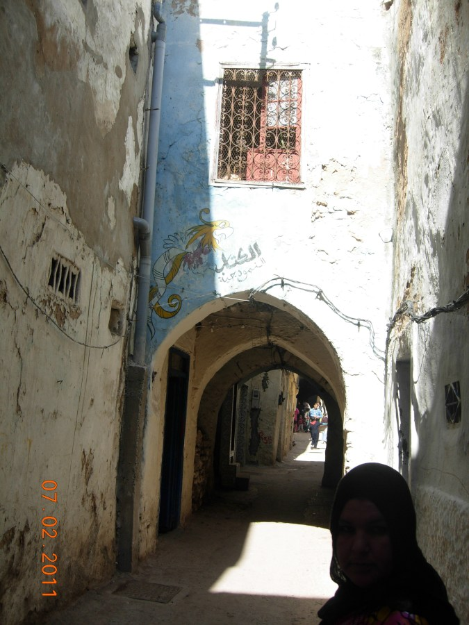 Traditional Hammam in Moroccan Medina