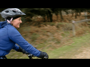 Biking in the New Forest