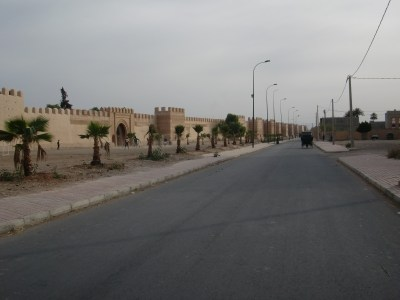 The walls and bastions of Taroudant