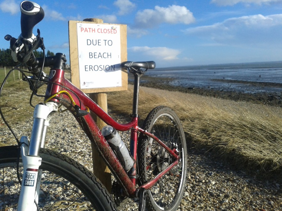 Missing Section of The Solent Way