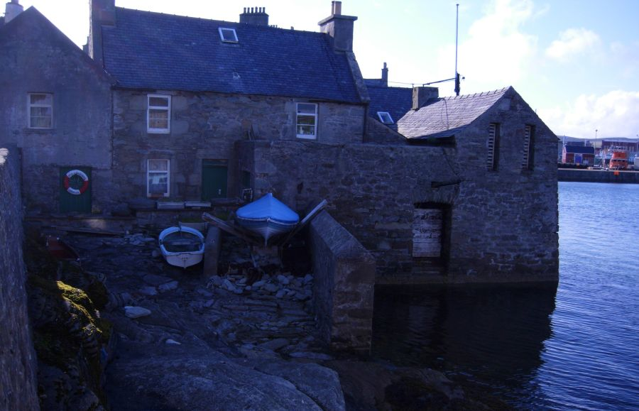 Stone Building in Lerwick