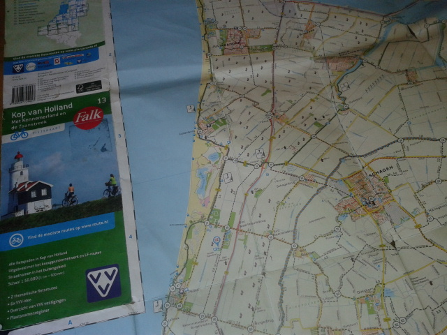 Map of Holland for Bikes