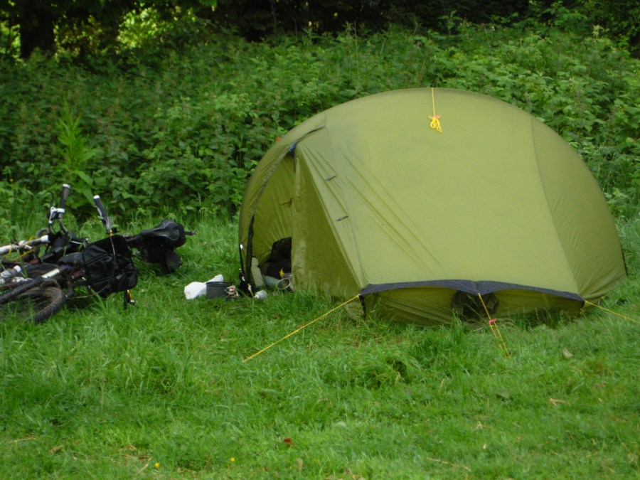 Camping at the Sustainability Centre