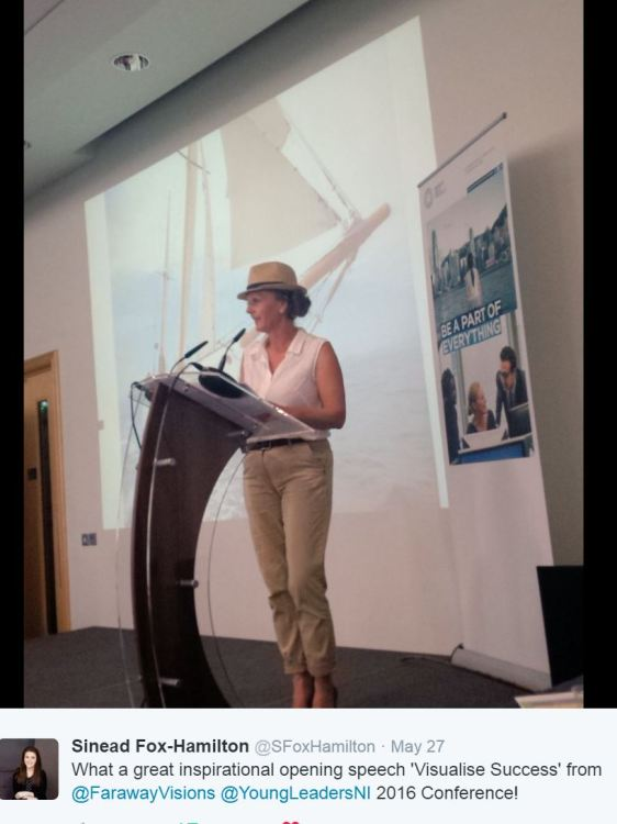 meraid-griffin-speaker-at-young-leaders-conference-belfast