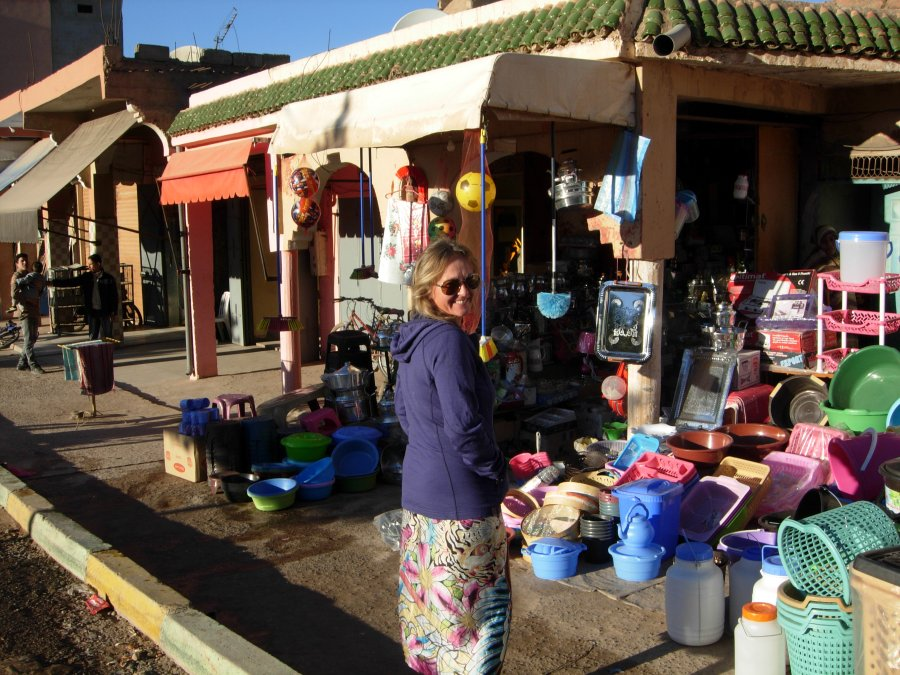 shopping in aoulouz