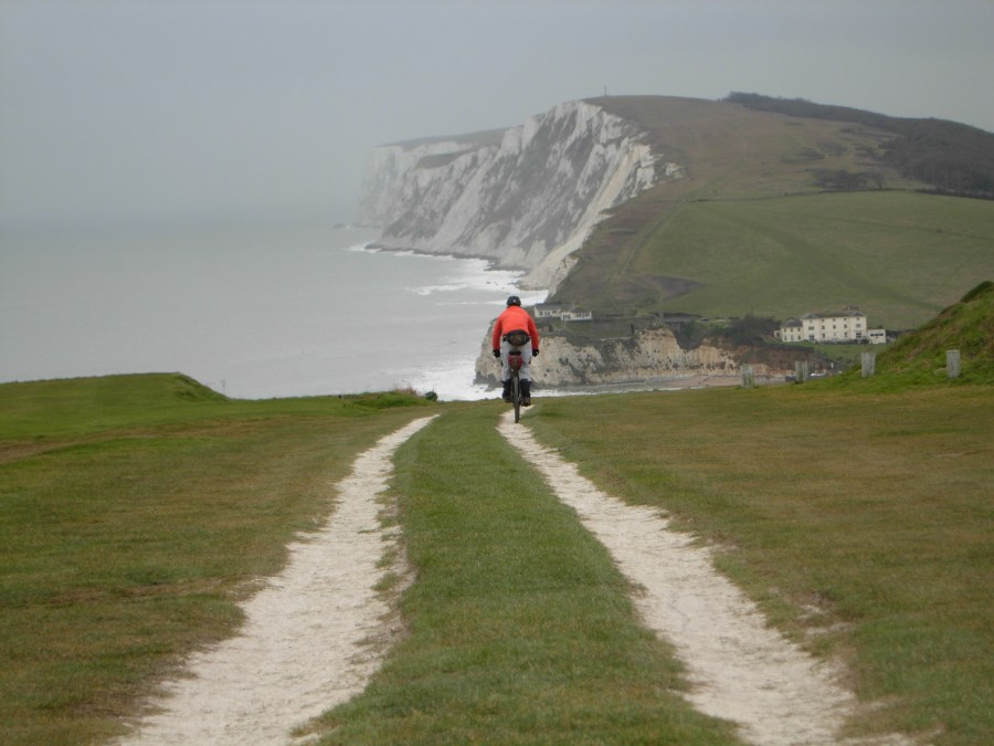 Bikepacking Isle of Wight towards Highdown Cliffs Farawayvisions