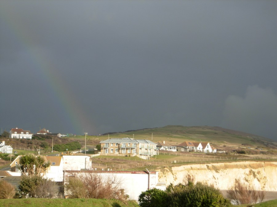 Rainbow over Freshwater bay