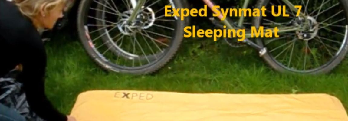 Inflating Exped Synmat UL 7