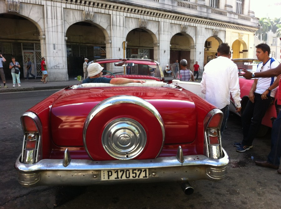 Havana from the back of a Buick
